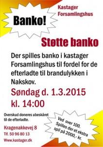 Støtte banko 1-3-2015 (Custom)