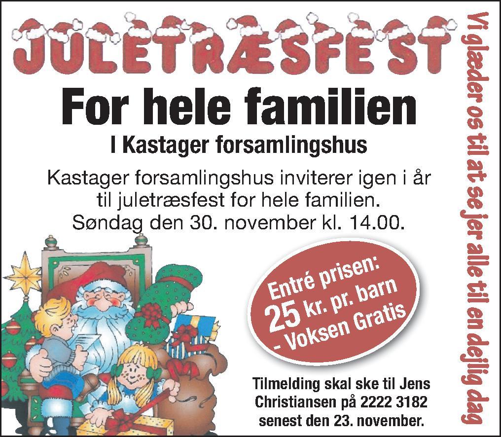 Juletræsfest 2014